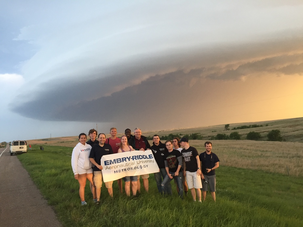 Our severe weather field course in the Great Plains! -