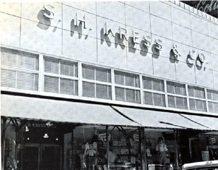 Original S. H. Kress storefront