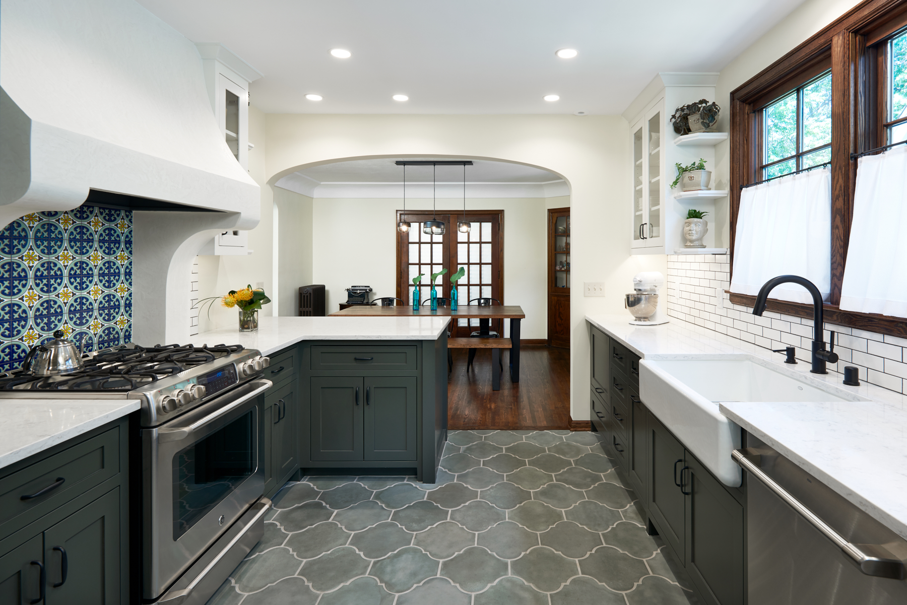 Kitchen renovation and interior design by NewStudio Architecture