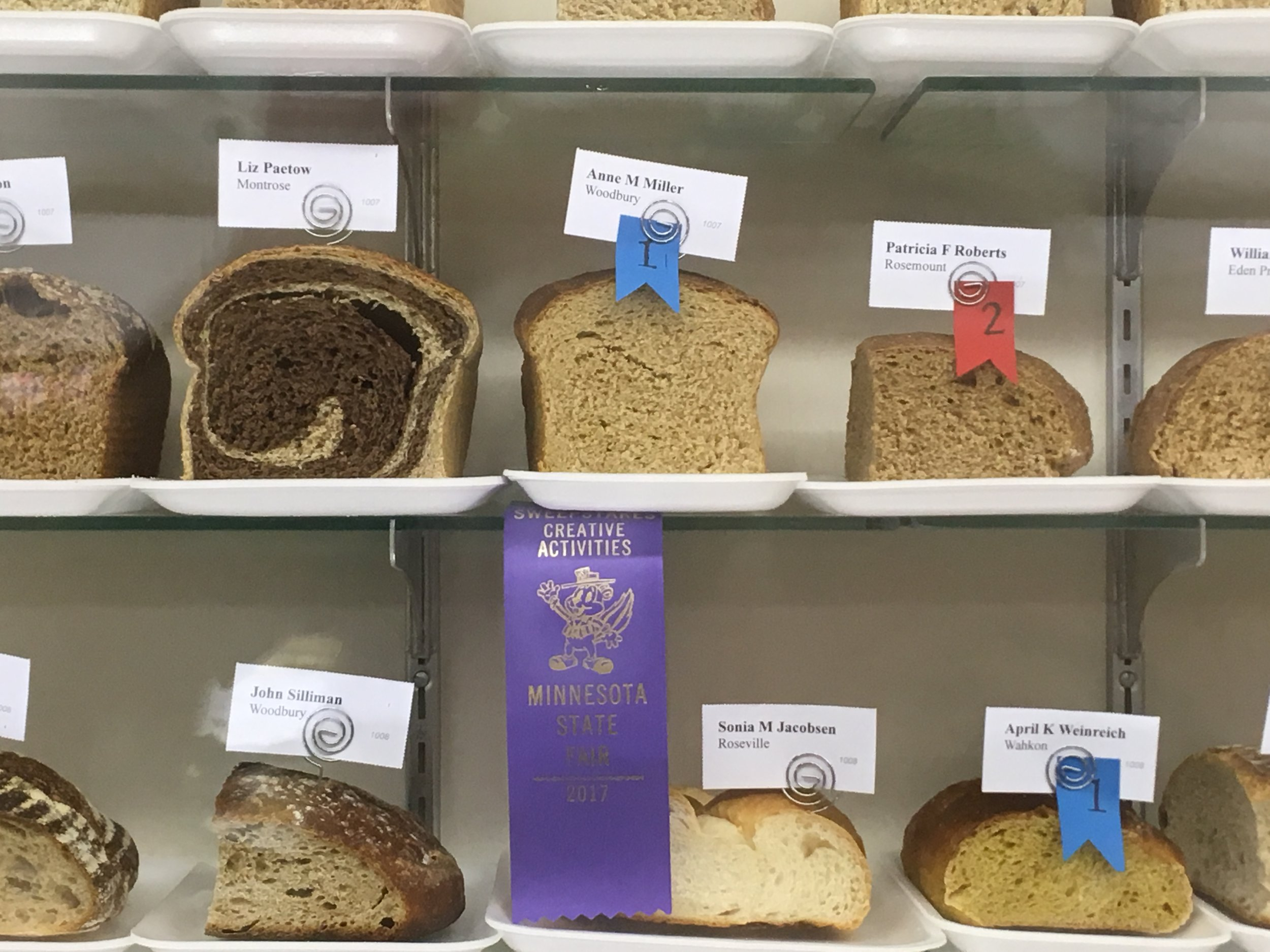 In the extremely competitive (no joke!) world of food competitions, our friend and bookkeeper, Anne Miller won 1st prize in her category! Congrats Anne!!