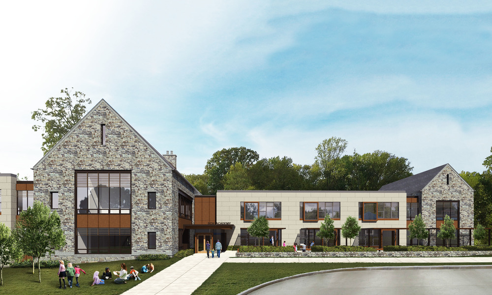 Springside Chestnut Hill Academy Lower School design image for master plan by NewStudio Architecture