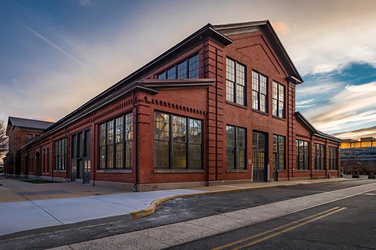 Philadelphia Navy Yard Building 3 showcases NewStudio Architecture's expertise in historic reuse projects