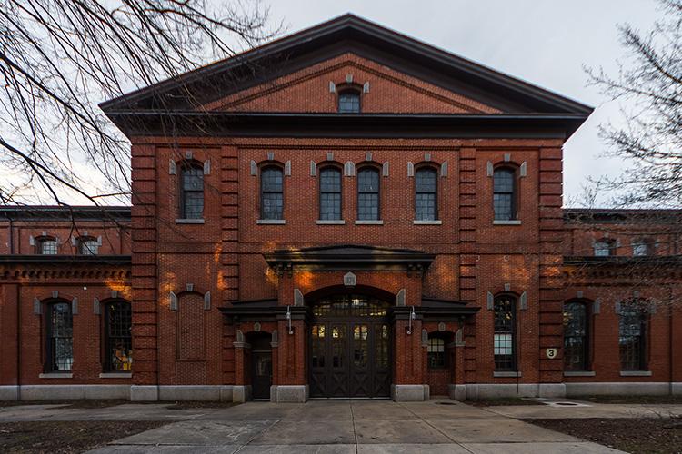 NewStudio Architecture kept the historic brick charm of the Philadelphia Navy Yard, Building 3