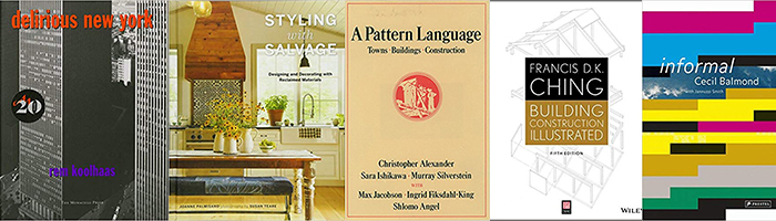 Favorite books of NewStudio Architecture staff.