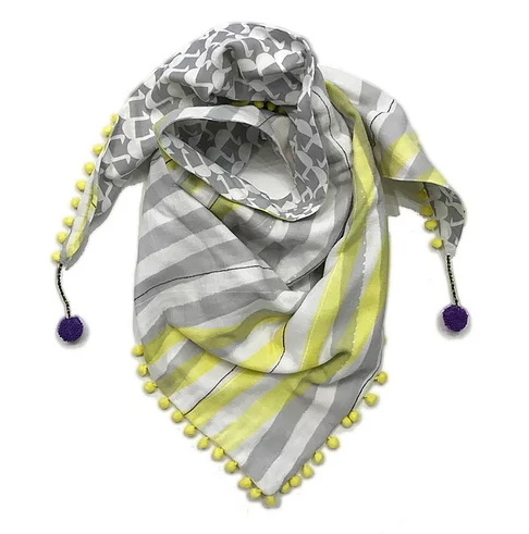 One-of-a-kind scarf by Rebecca Yaker