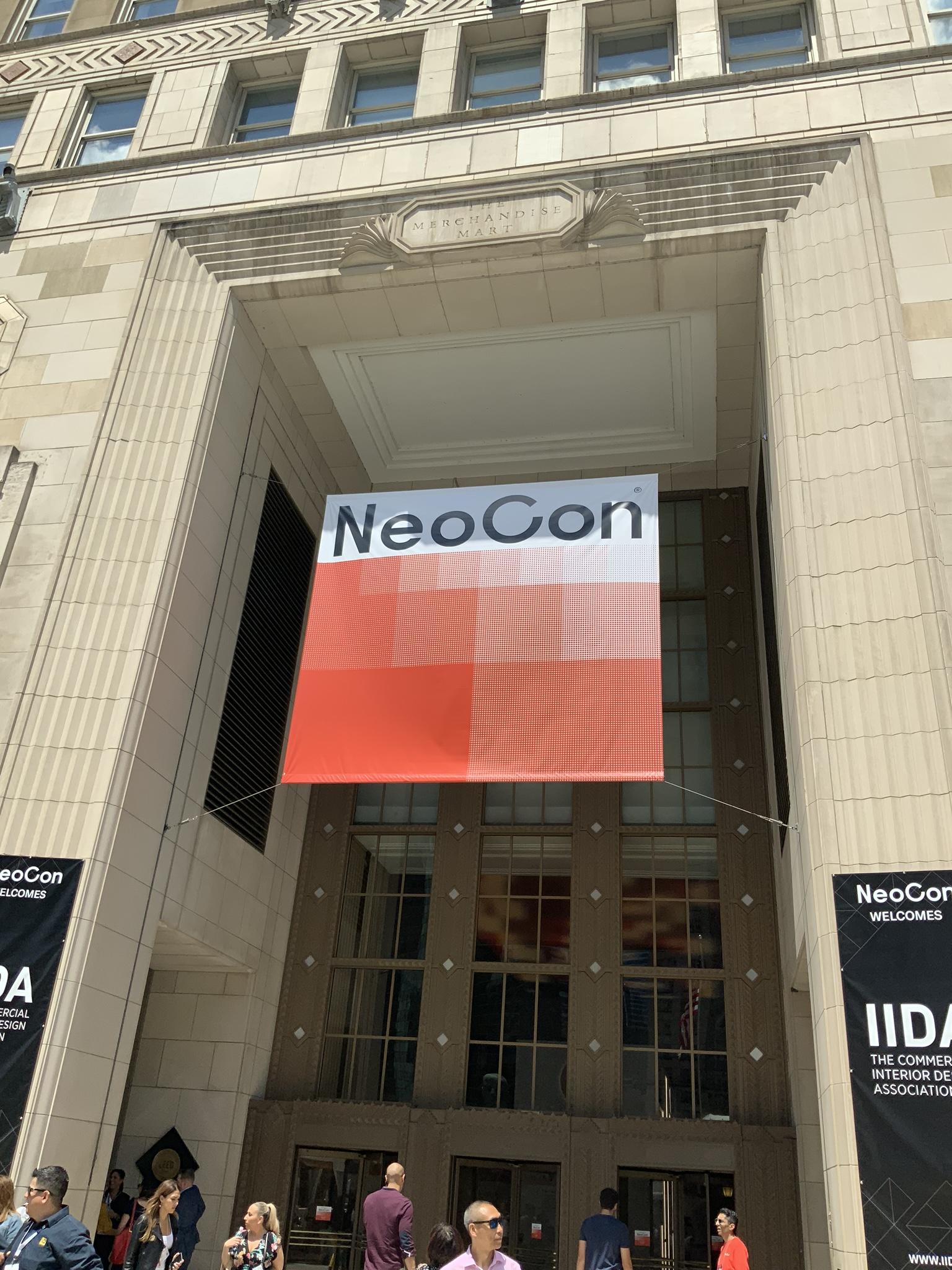 NeoCon 2019 in Chicago, Illinois