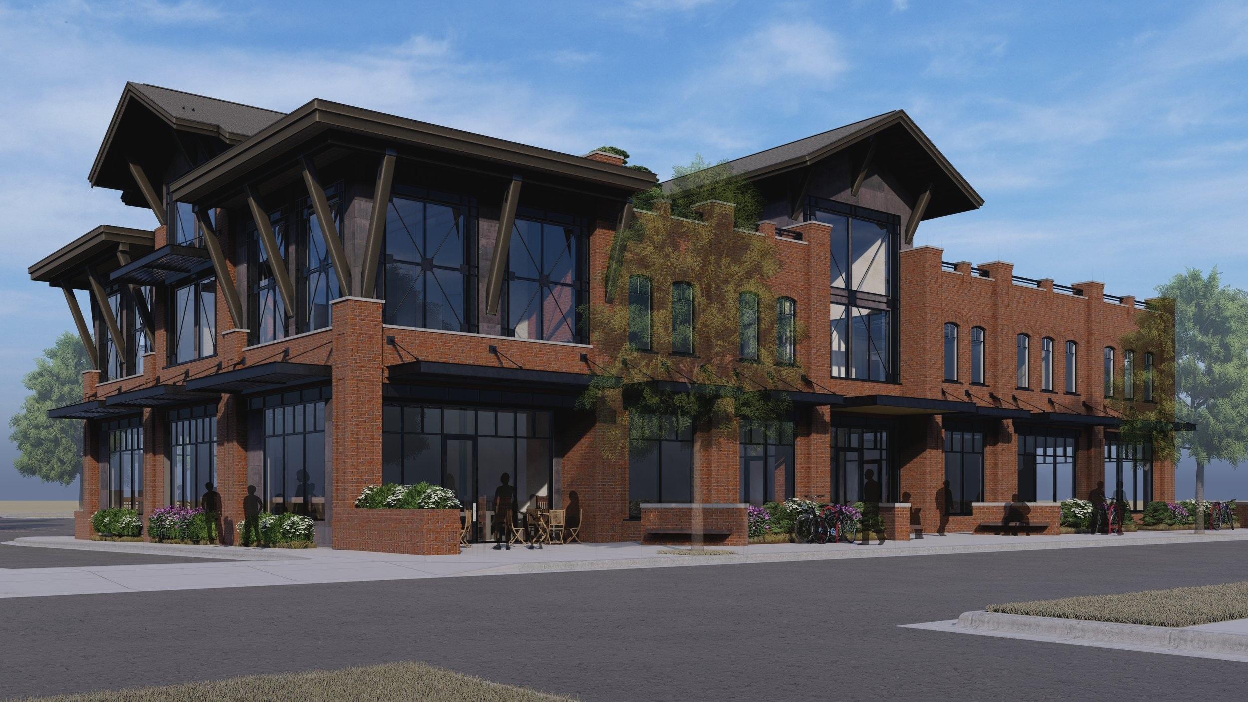 Commercial Building at Ferguson Farm
