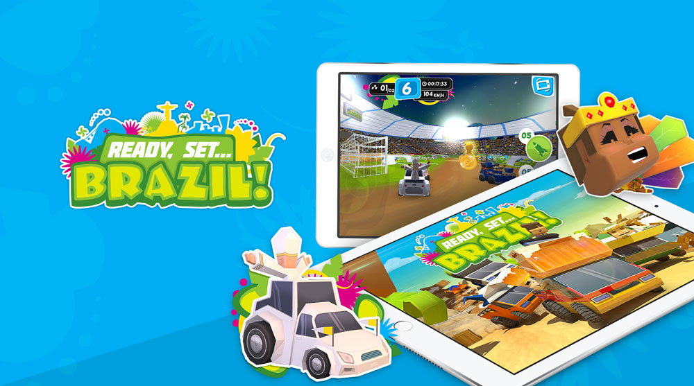 Ready Set Brazil is an online mobile game, adventure and racing game, in which the player will experience the adrenaline of Brazil in the 2014 in the eve of the most important soccer event, is free to play on Android and iOS devices,