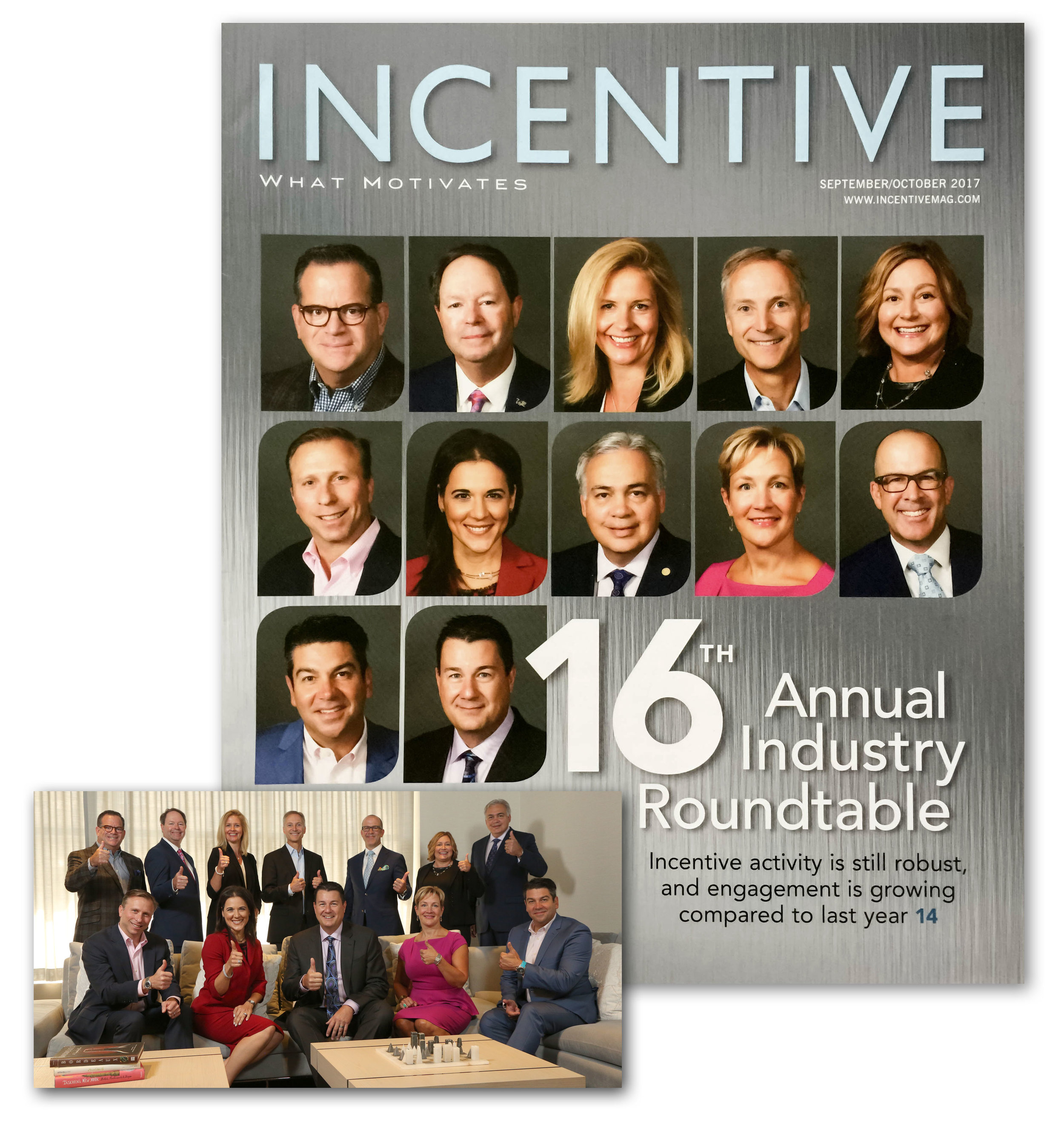 INCENTIVE MAGAZINE INVITES RICH KILLIAN TO THE 16TH ANNUAL INDUSTRY ROUNDTABLE -  Incentive Magazine gathered a group of distinguished professionals from all sectors of the motivation, recognition, and engagement business to talk about the state of the industry. Rich Killian had the distinct honor of being invited to this year's panel discussion.Read more about it here at IncentiveMag.com