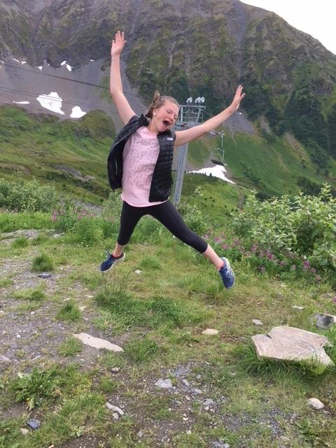 Nothing beats Alaska sunshine! -