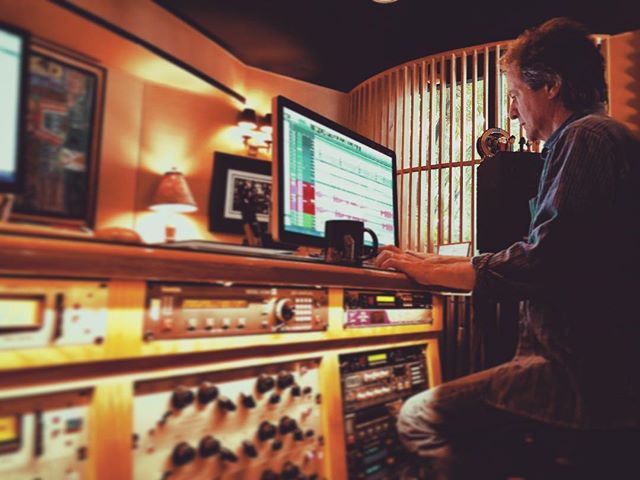 @clearmountain exercising his Pro Tools skills.