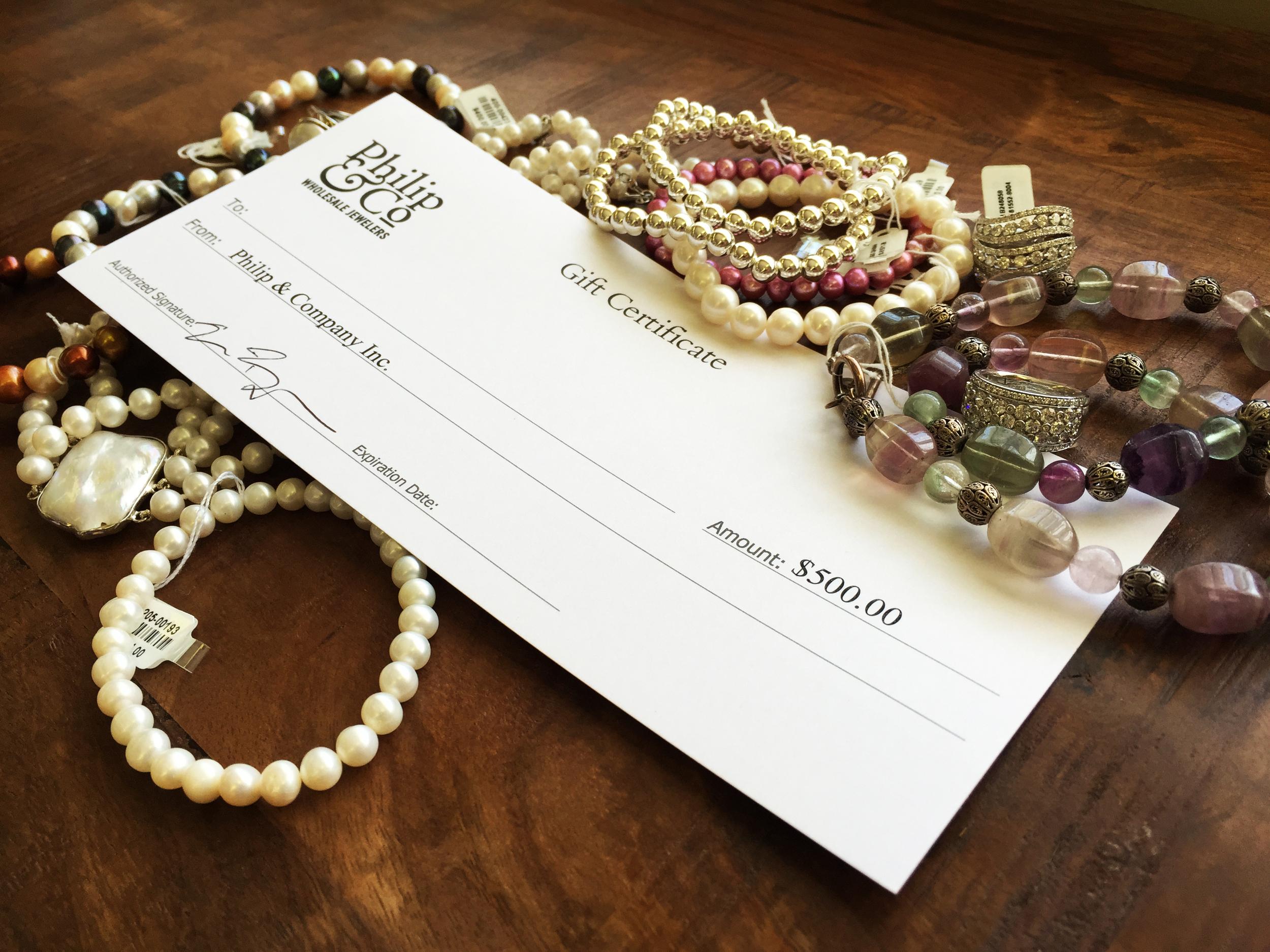 Philip & Co Jewelers Giveaway Website
