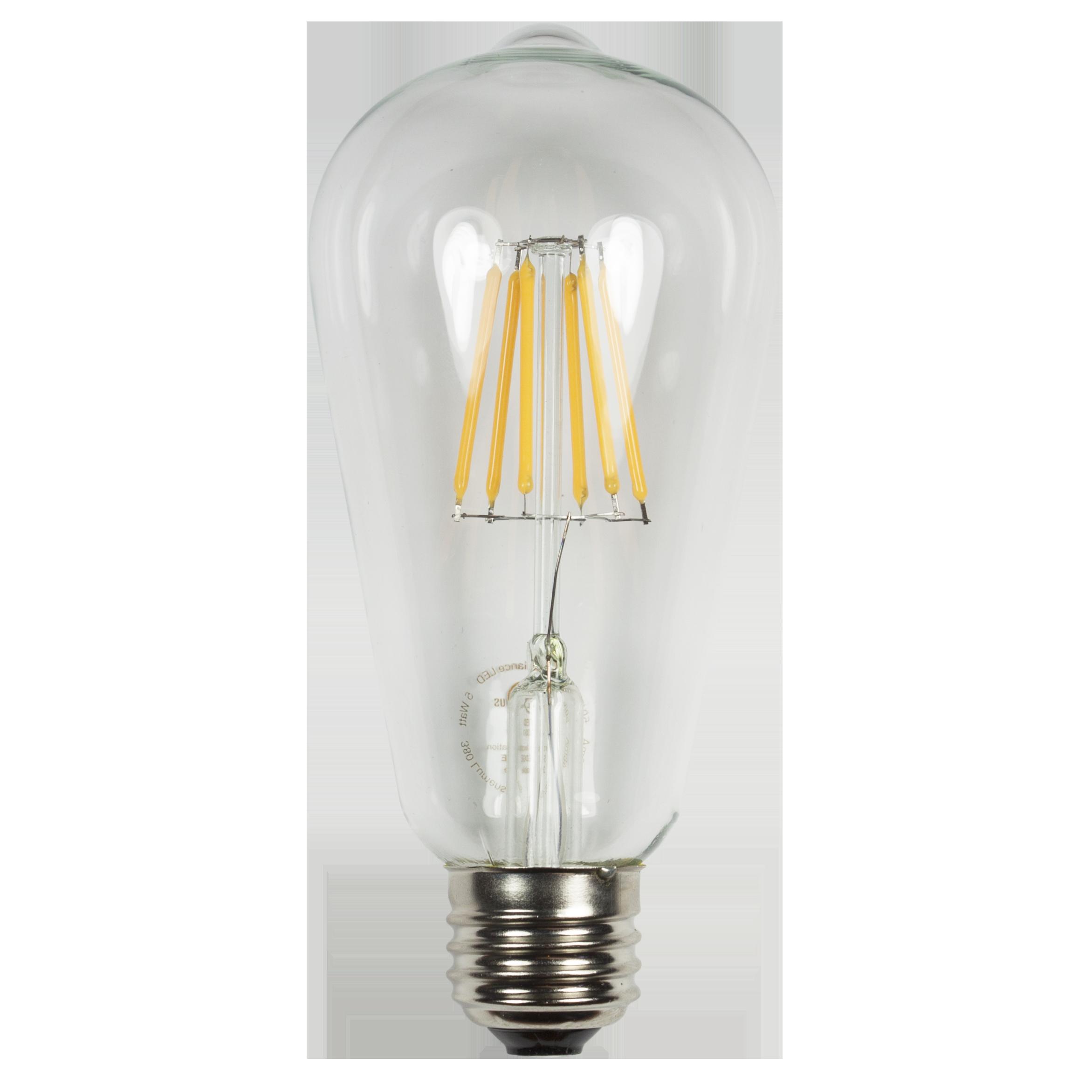 S21 EDGE Filament  Wattage: 5 Lumens: 380