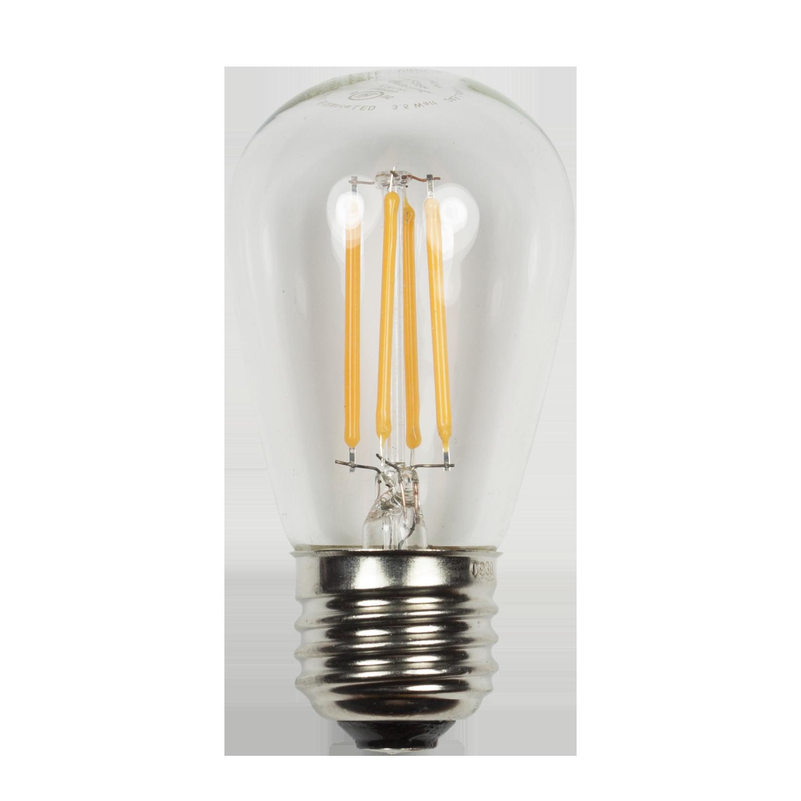 S14 EDGE Filament  Wattage: 2, 3.5 Lumens: 245