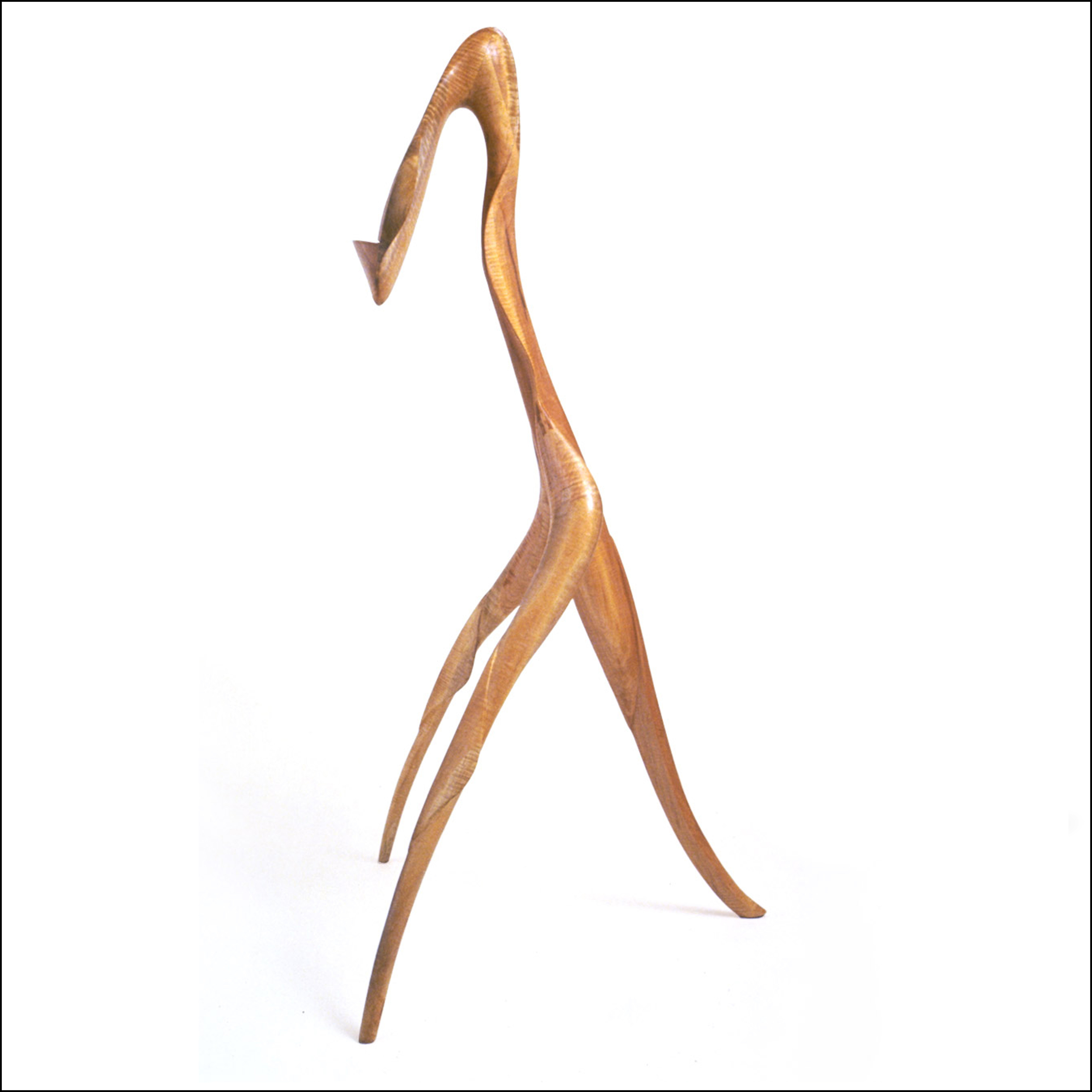 carved music stand