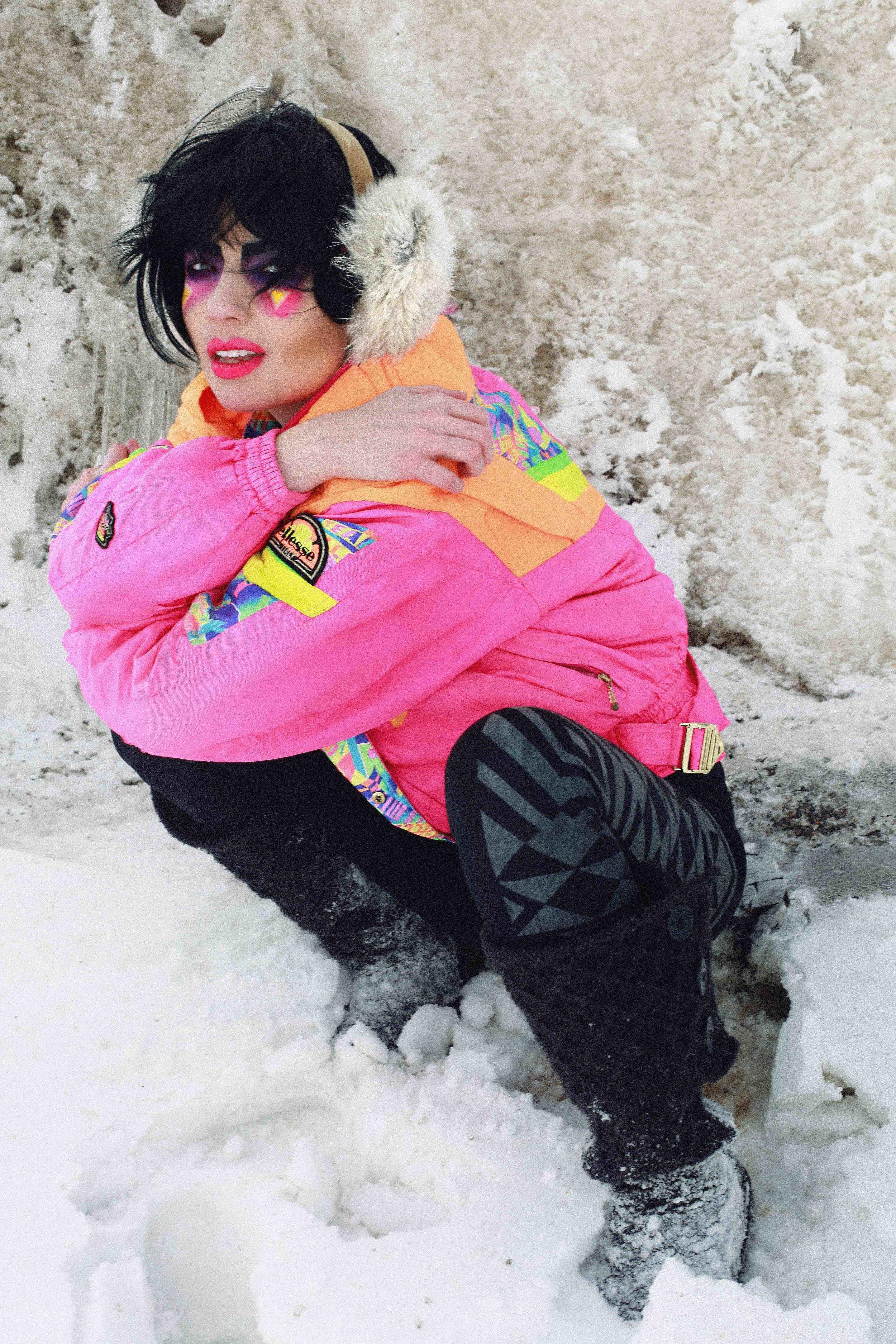 80'S SNOW BUNNY- Retro Ski Photo Shoot Story shot by Alyssa Risley - IG @alyssarisley