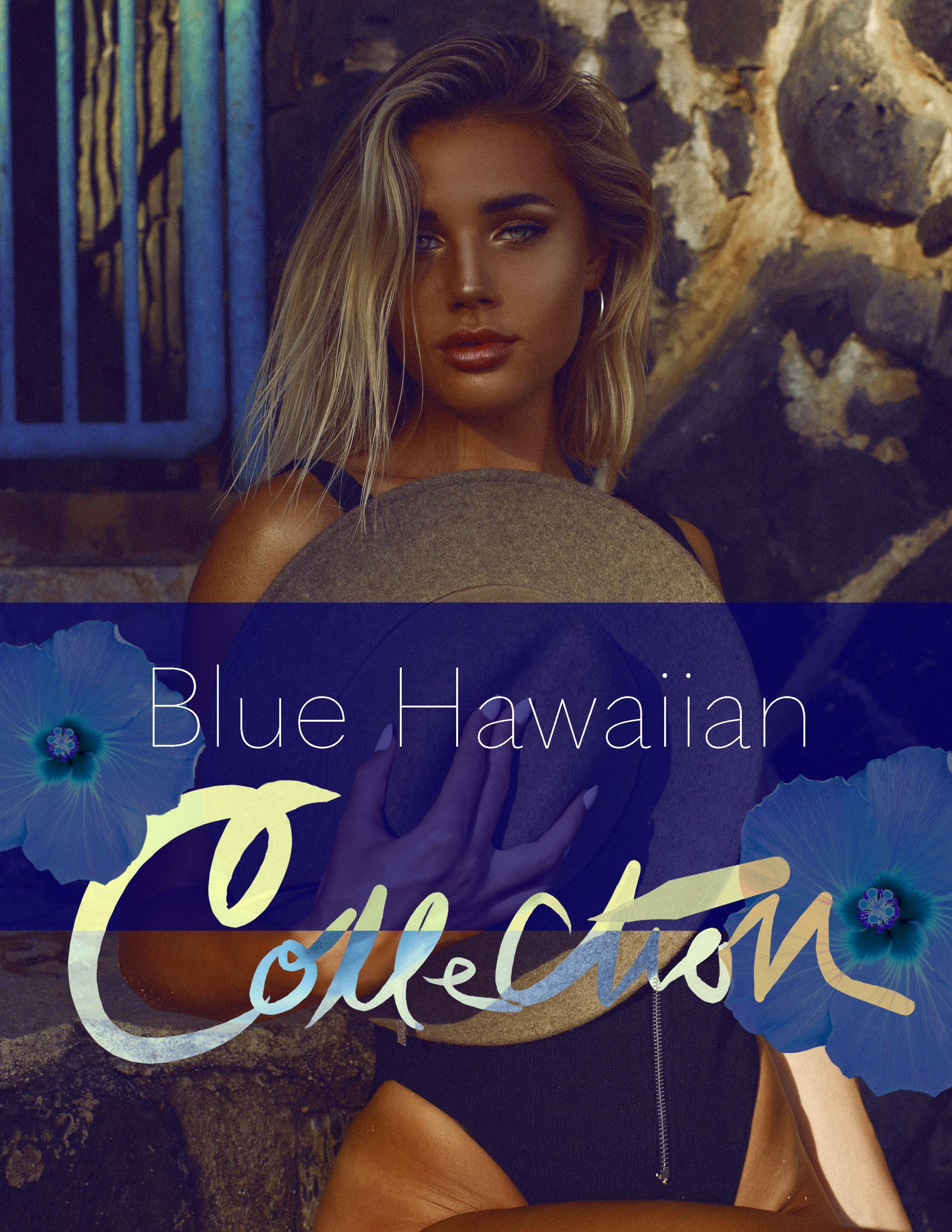 Blue Hawaiian Collection Photoshop Actions - SHOP Photographer Alyssa Risley @alyssarisley