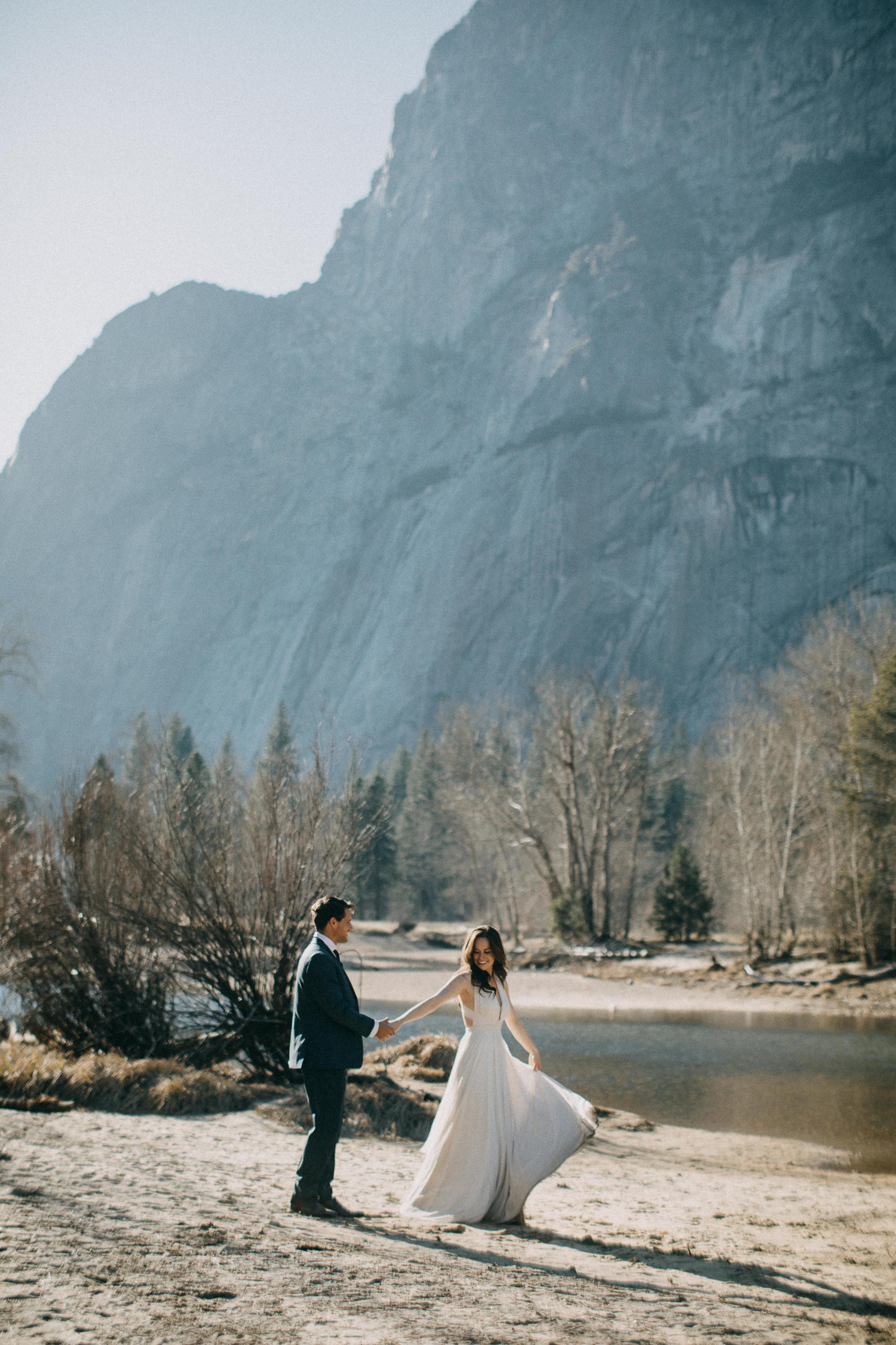 Elopement in Yosemite National Park