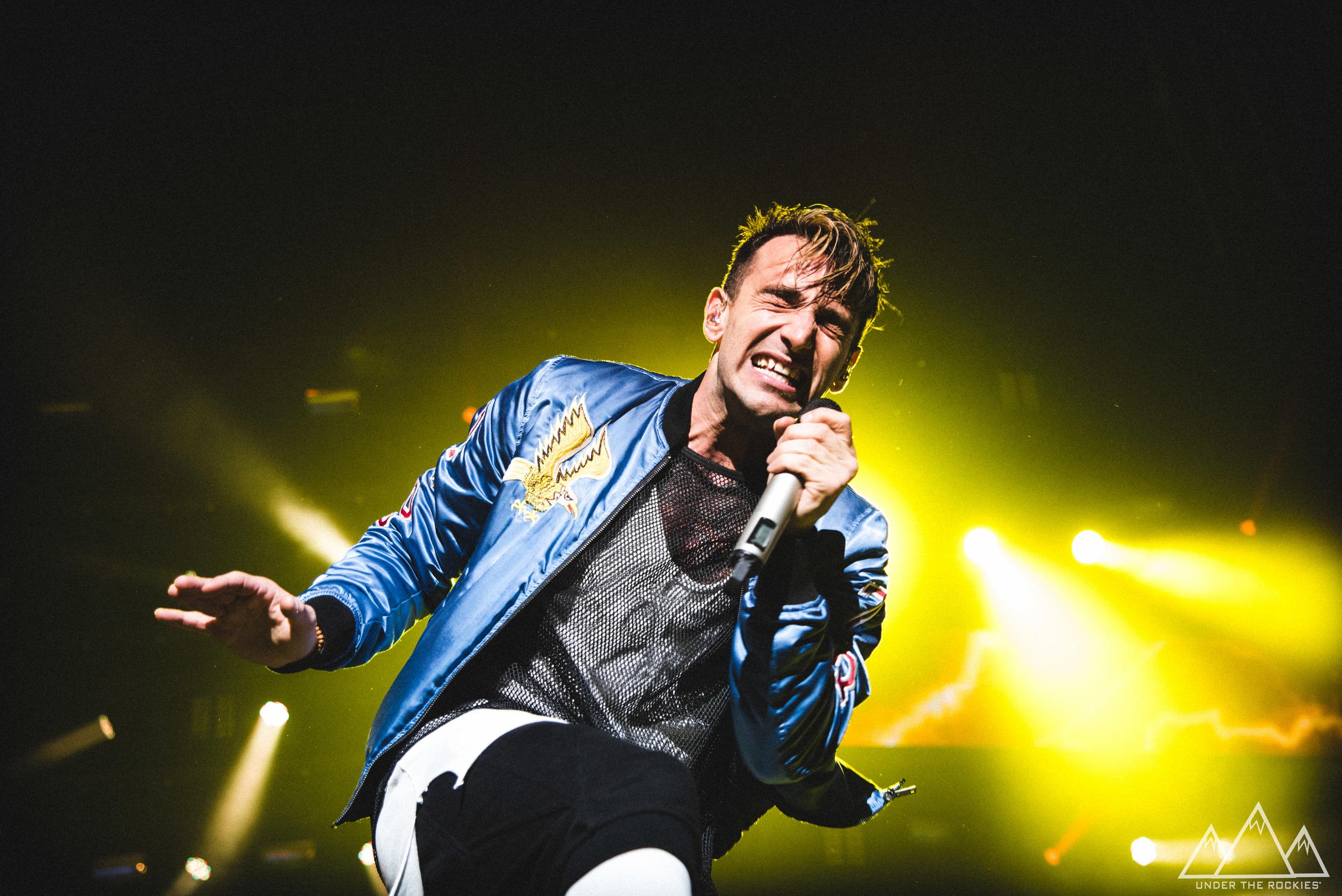 Jacob Hoggard, lead singer of Hedley, performing in Calgary, AB. Photos and review below by Josh Platt.