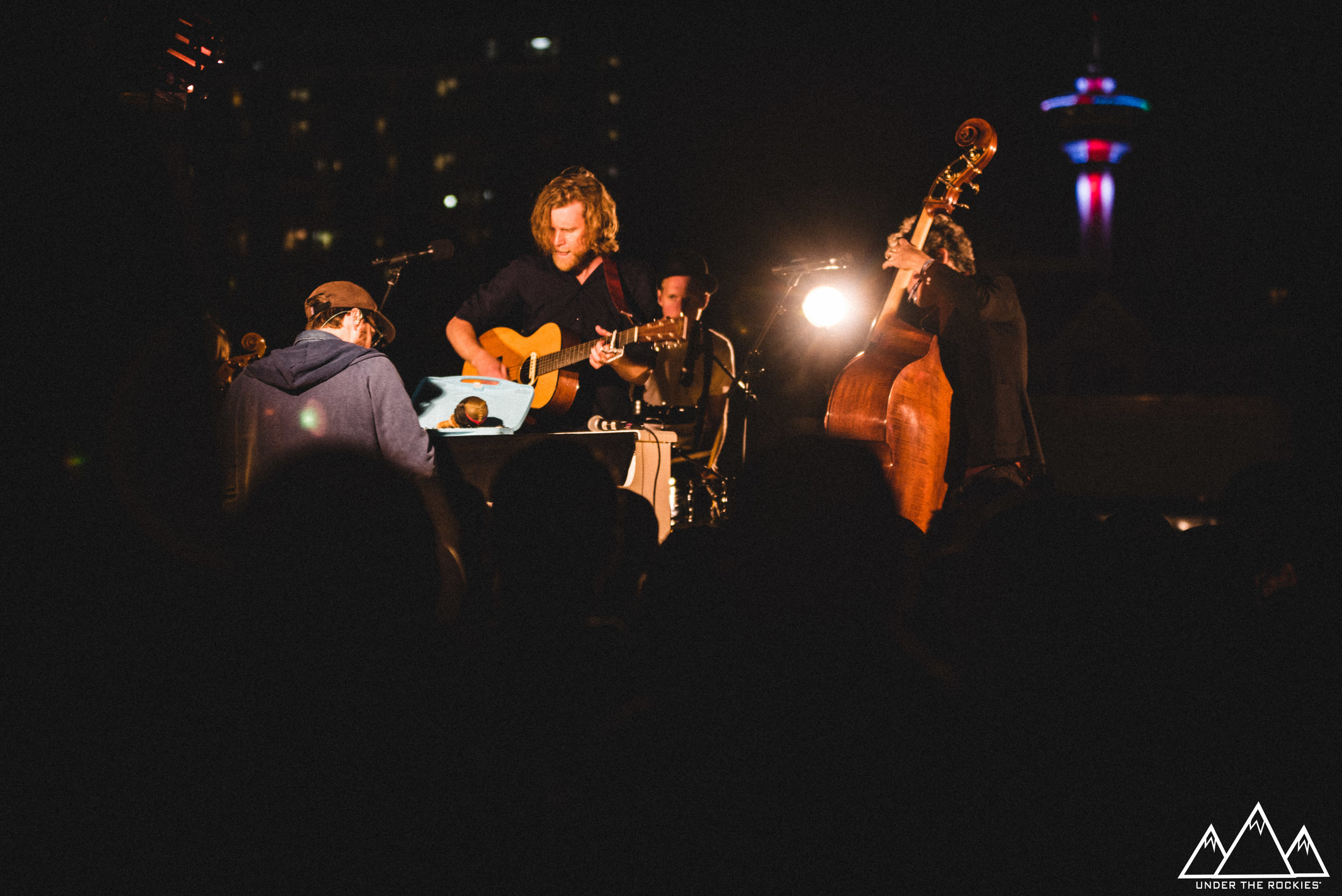 The Lumineers feat. the Calgary Tower