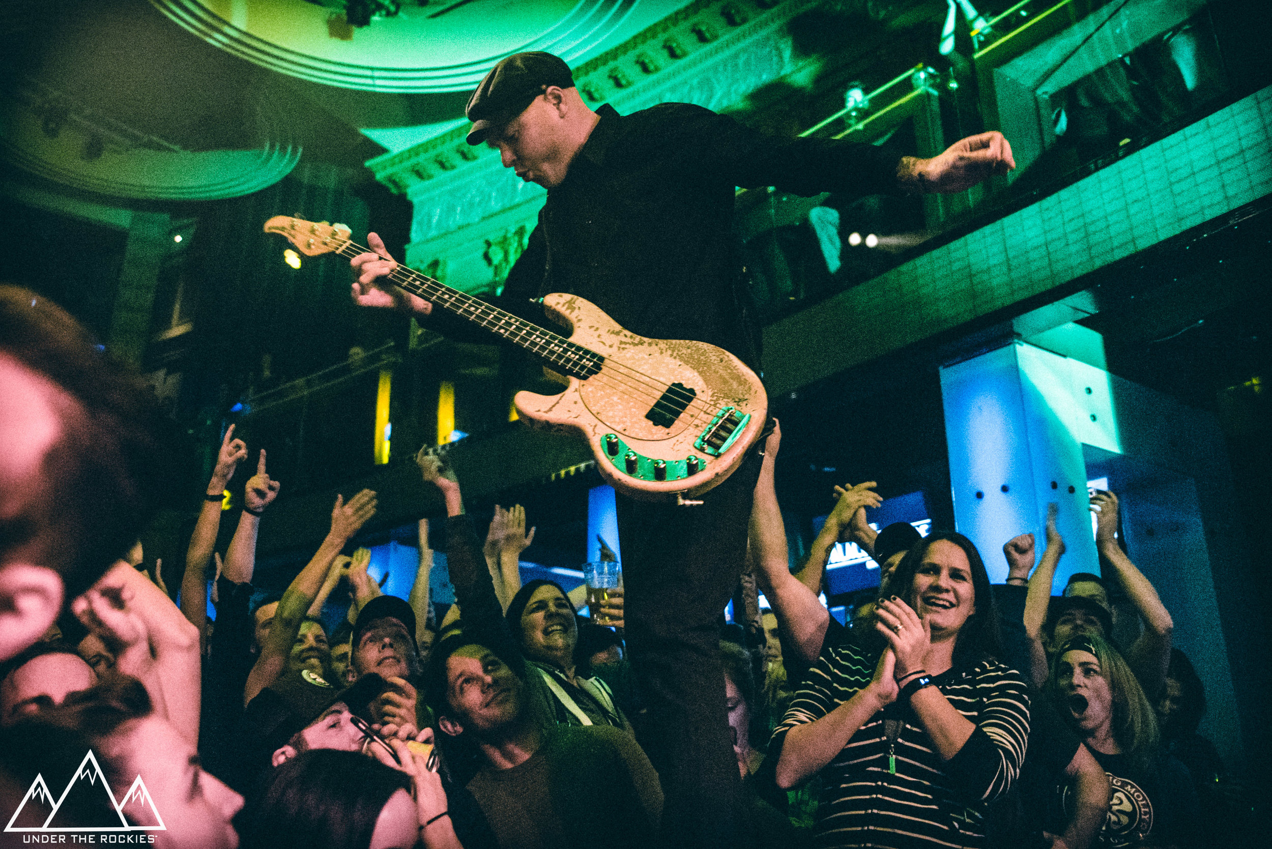 Nathen Maxwell performing in Calgary on October 20, 2017. Photo by Josh Platt.