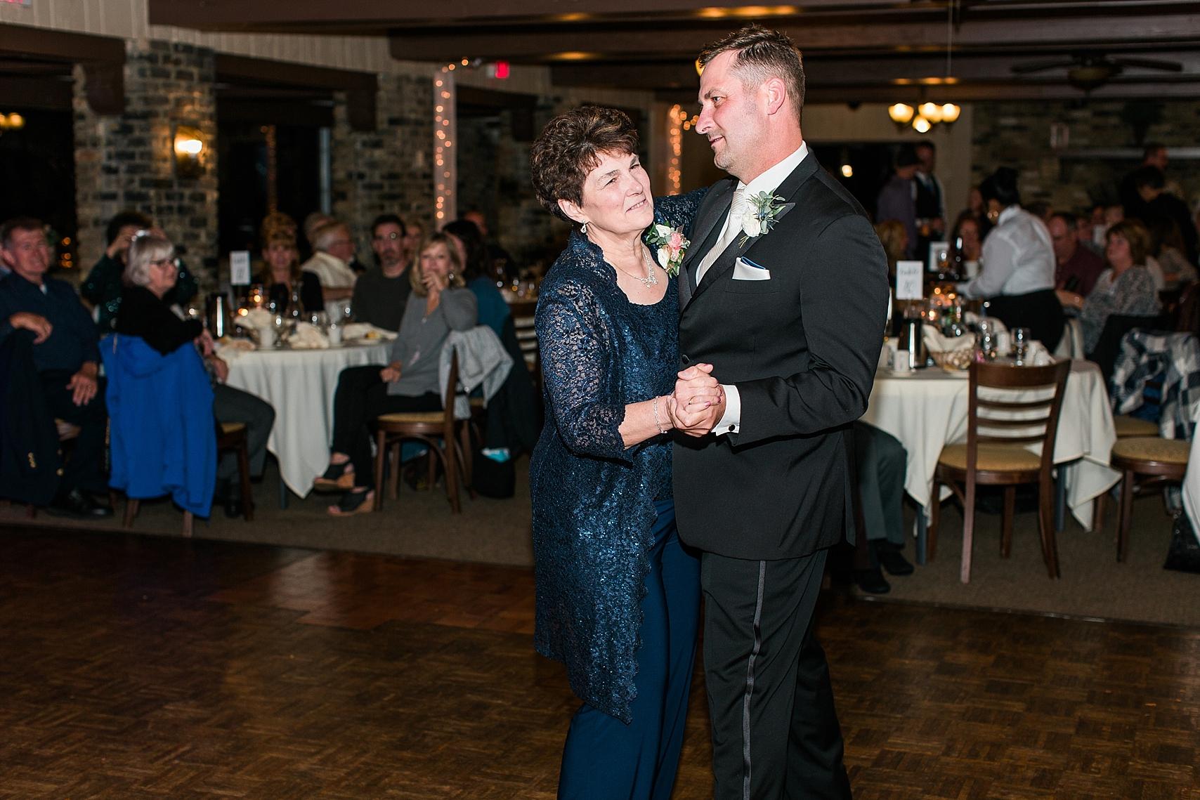 Mother Son dance at the Chart House Summer Wedding Lakeville Minnesota Minneapolis Wedding Photographer Mallory Kiesow