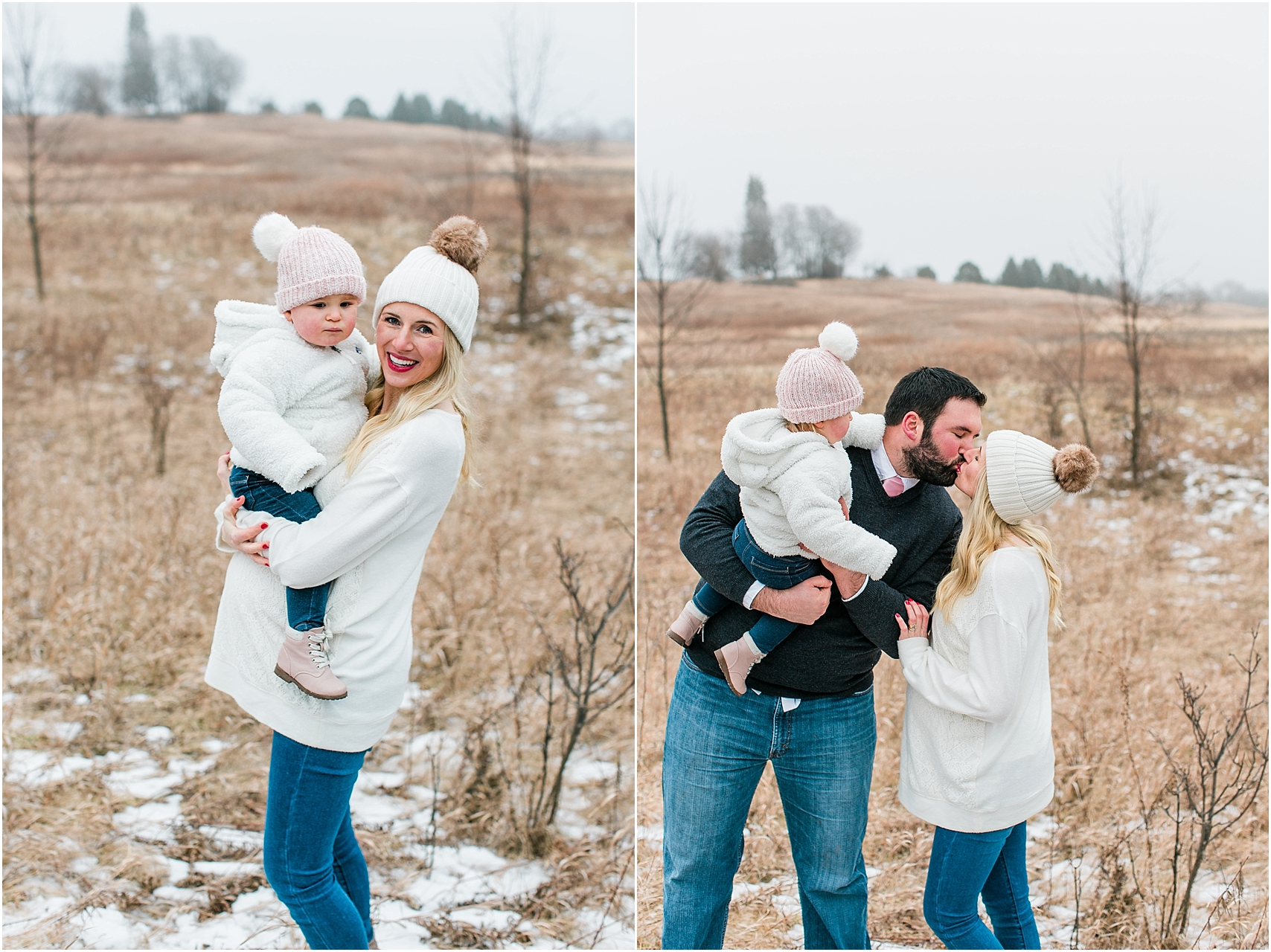 Minnesota winter maternity session Lake Ann Park Chanhassen photographed by Mallory Kiesow, Minnesota maternity photographer_011.jpg