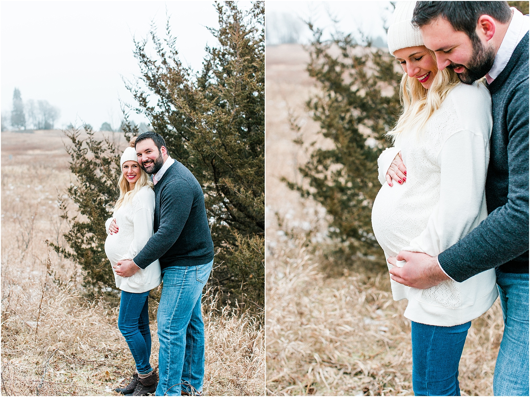 Minnesota winter maternity session Lake Ann Park Chanhassen photographed by Mallory Kiesow, Minnesota maternity photographer_017.jpg