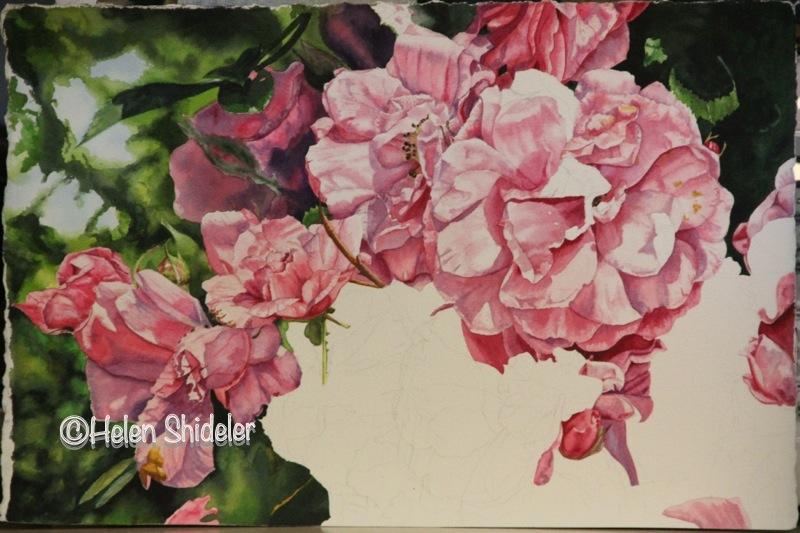 Pretty in Pink WIP Helen Shideler