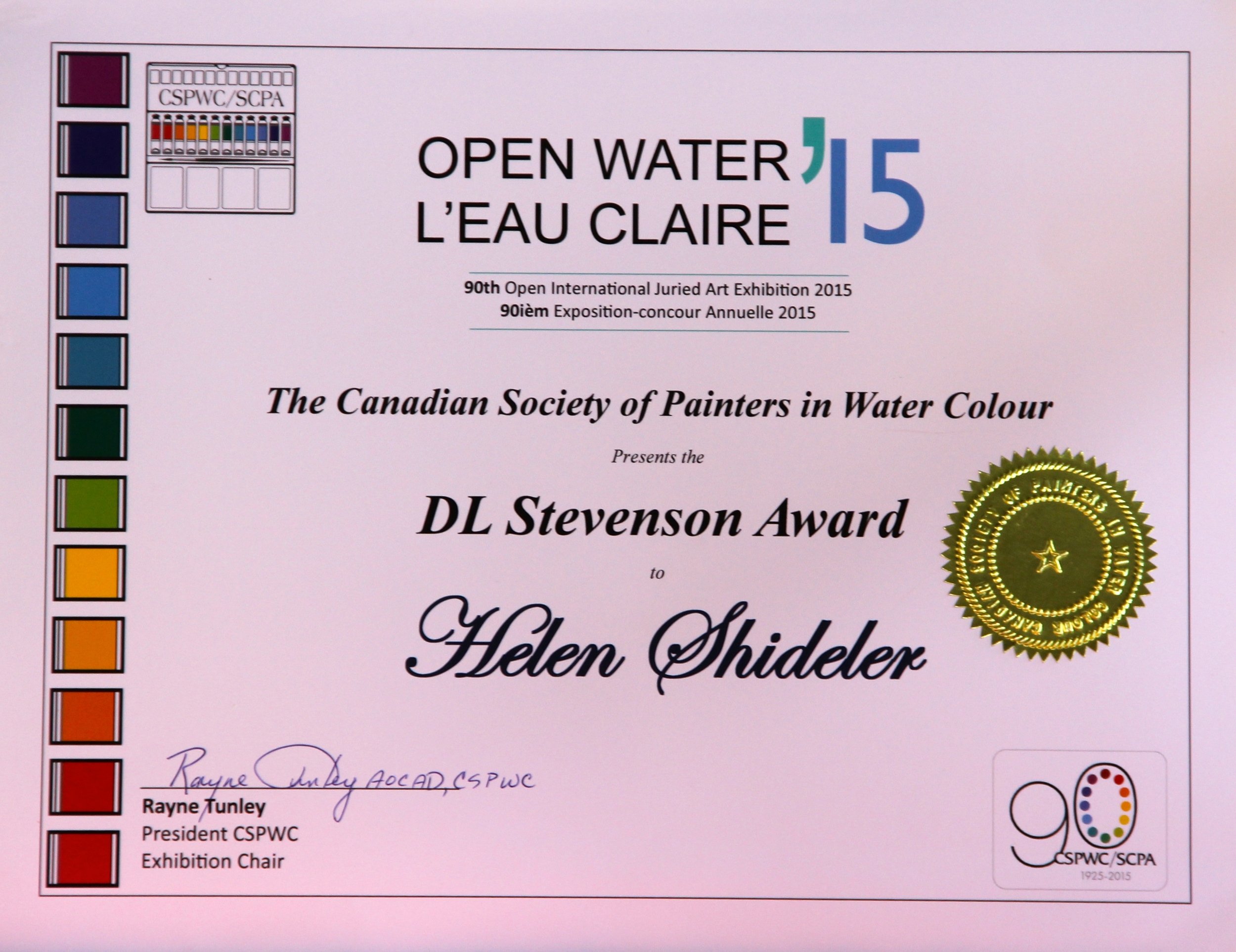 Open Water'15