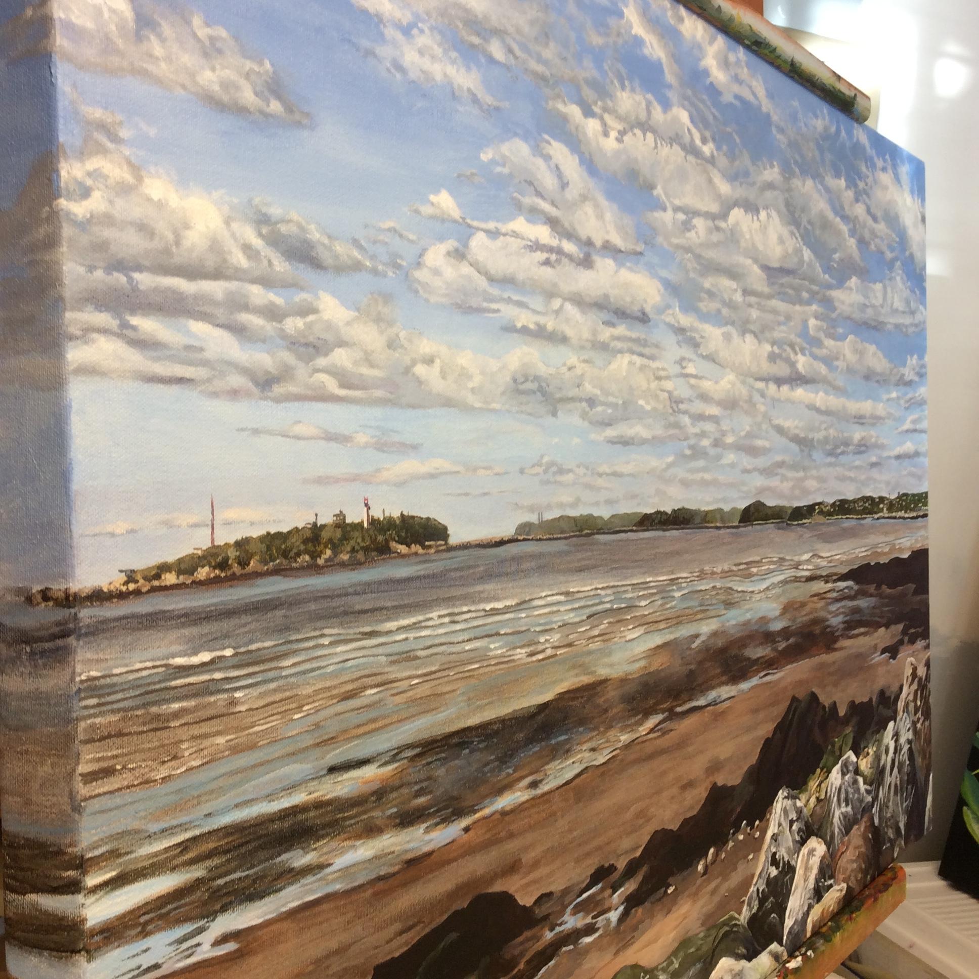 Partridge Island by Helen Shideler