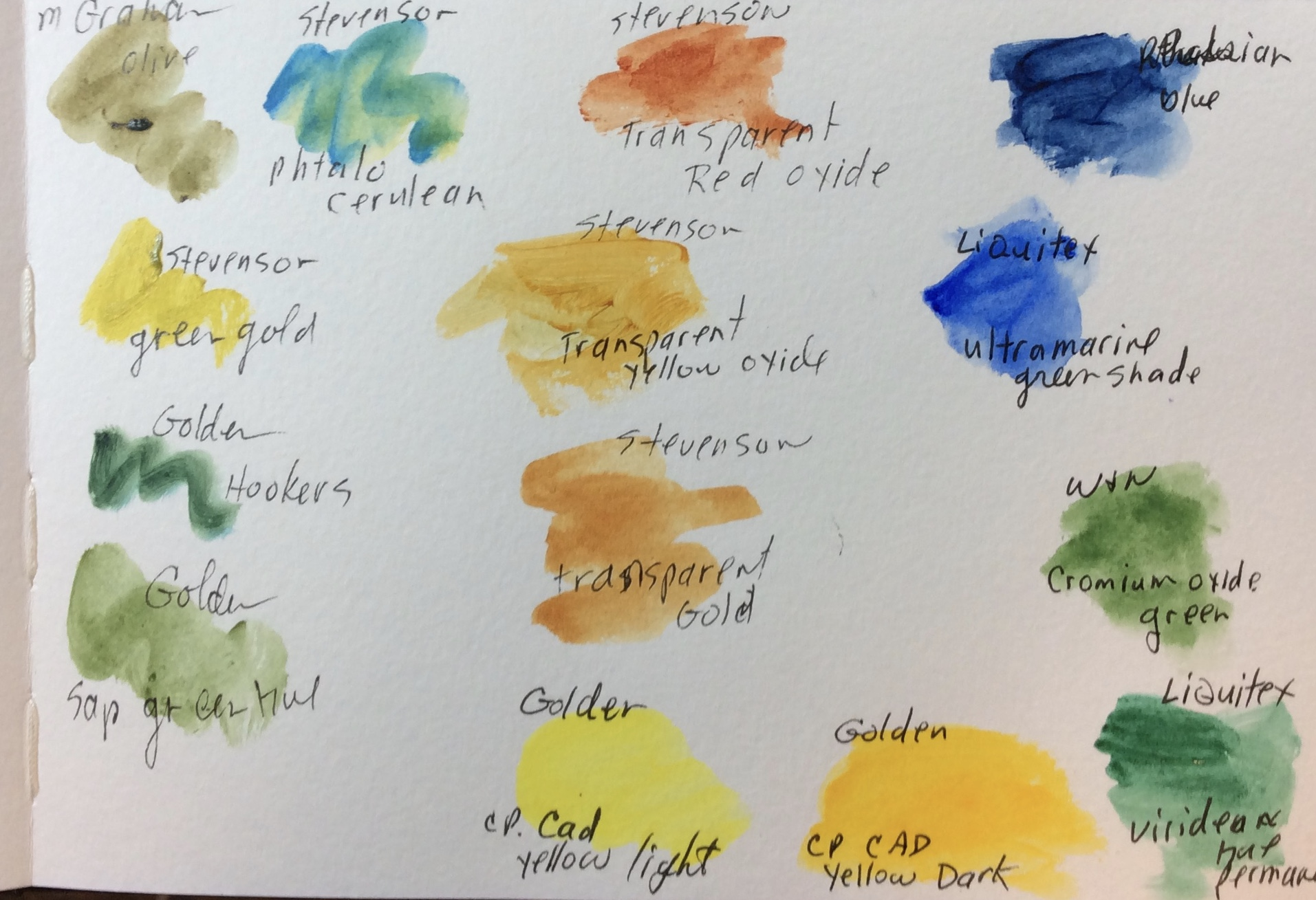 Pond Painting Journal by Helen Shideler