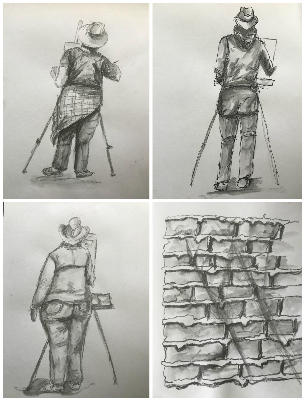 Santa Fe Sketching.jpg