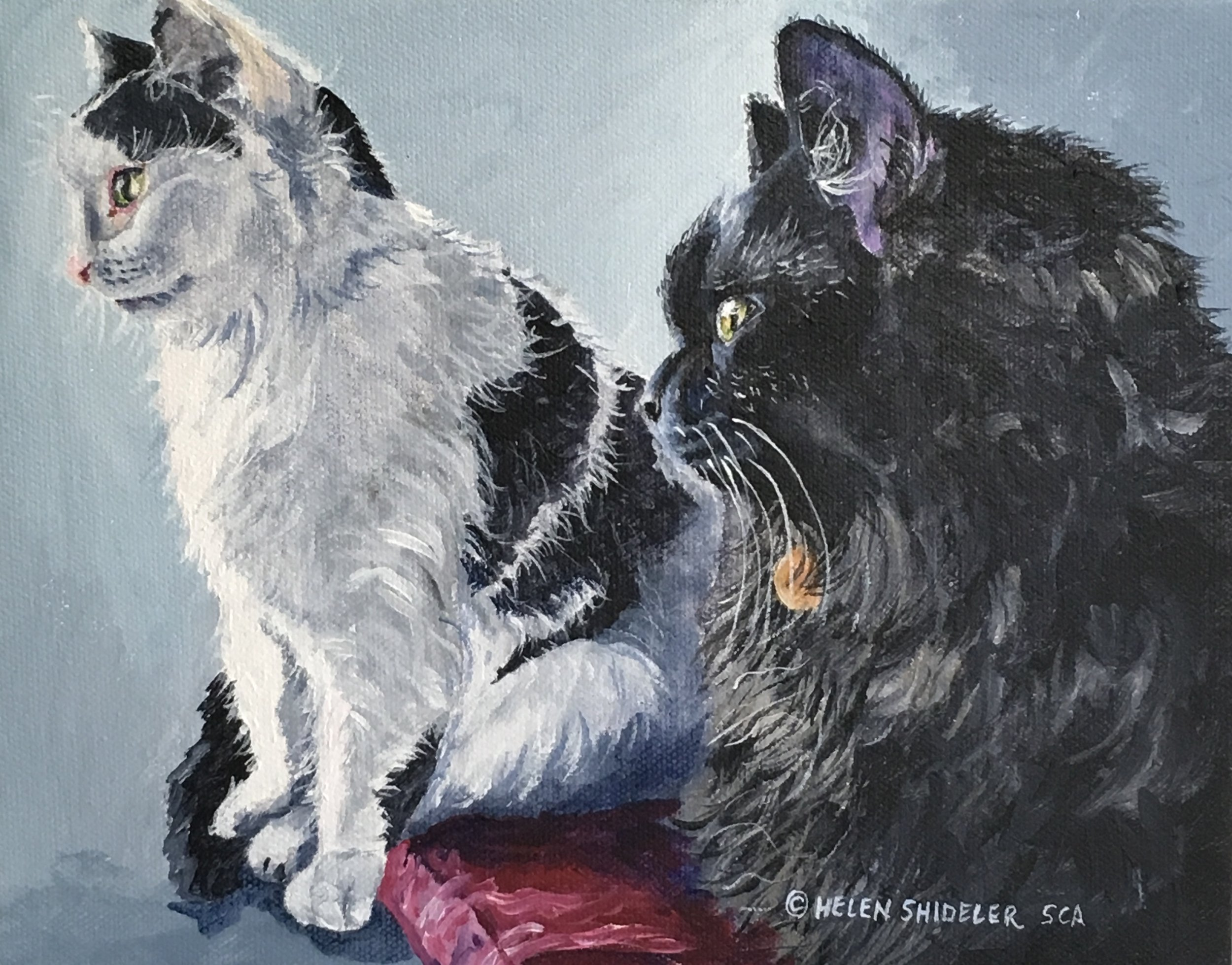Lilly and Bernie by Helen Shideler