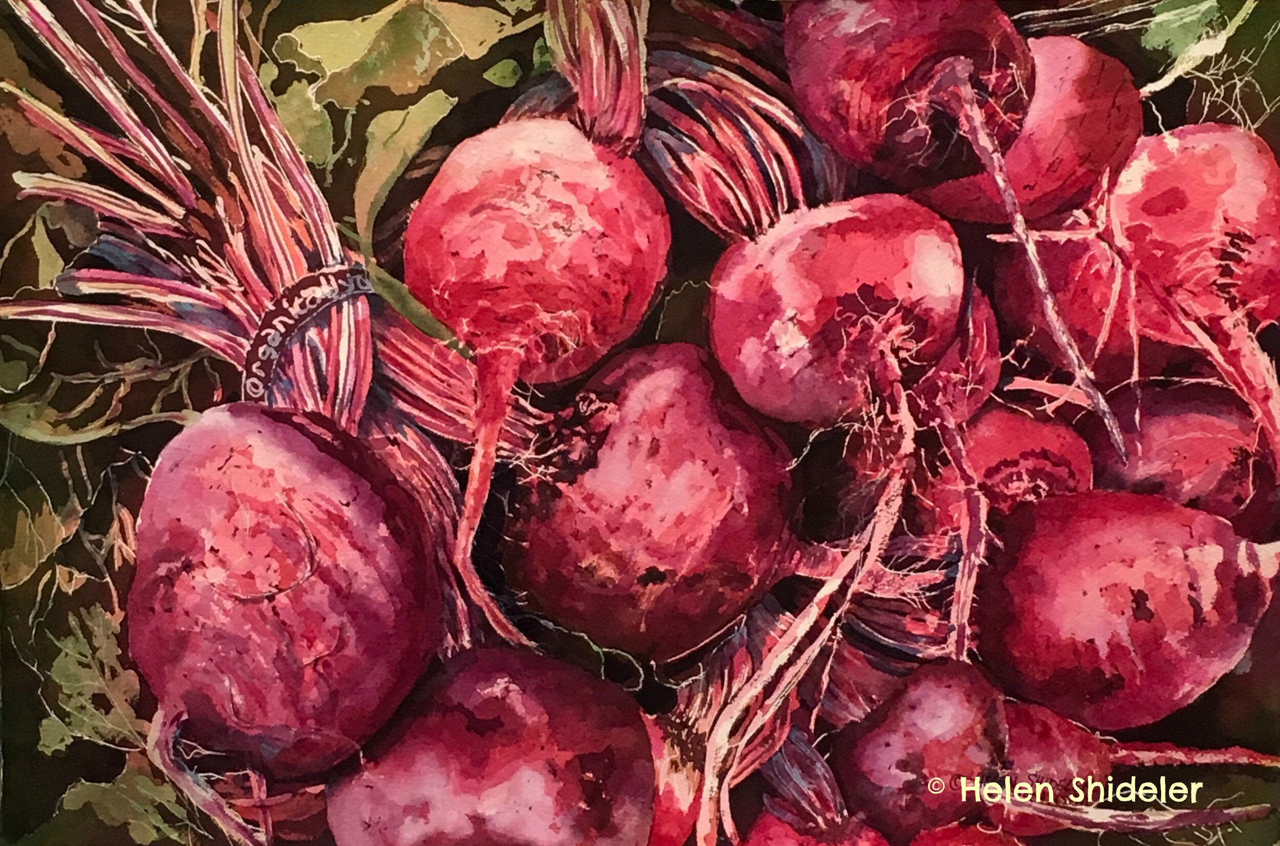 Borscht Anyone by Helen Shideler