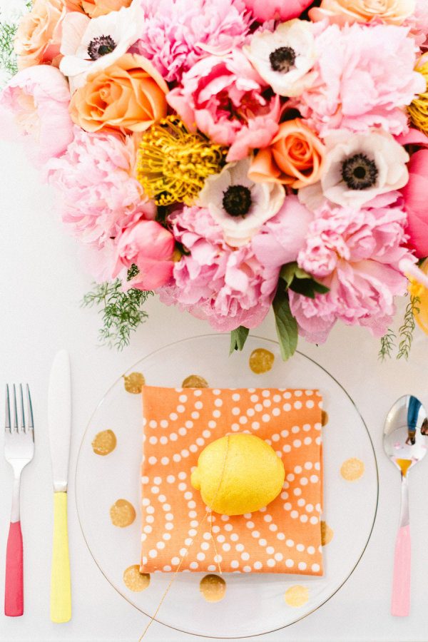 Photo by  Erin McGinn Photography  via  Style Me Pretty  // Design, Styling + Food by  Couture Pastries