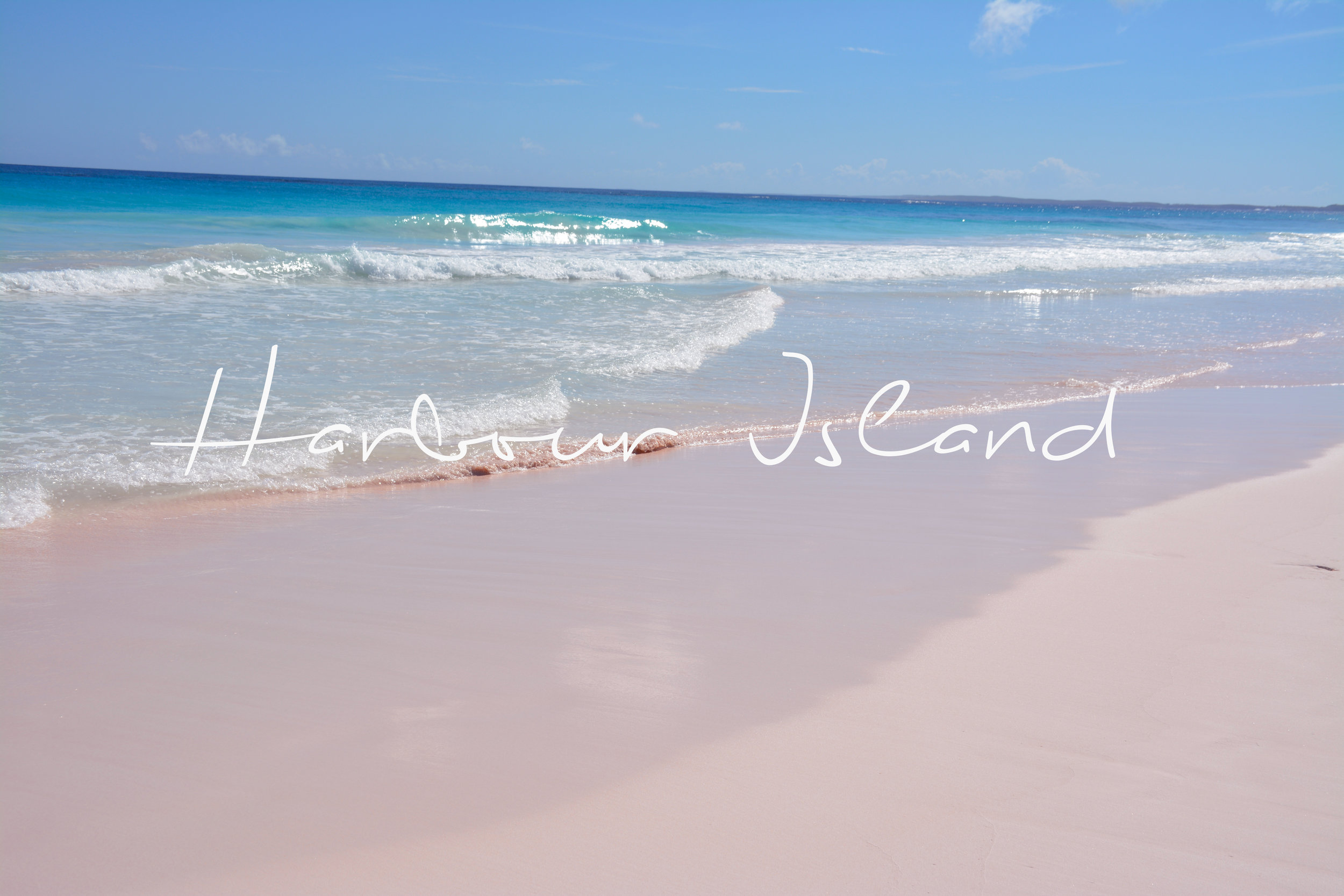 Pink Sands Beach, Harbour Island, Bahamas