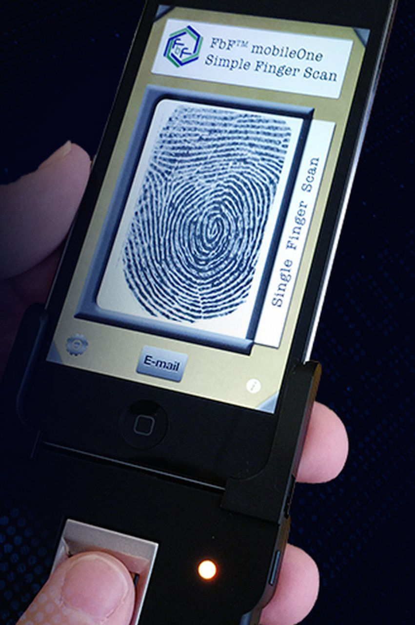 What if my customers could capture fingerprints anywhere, anytime?