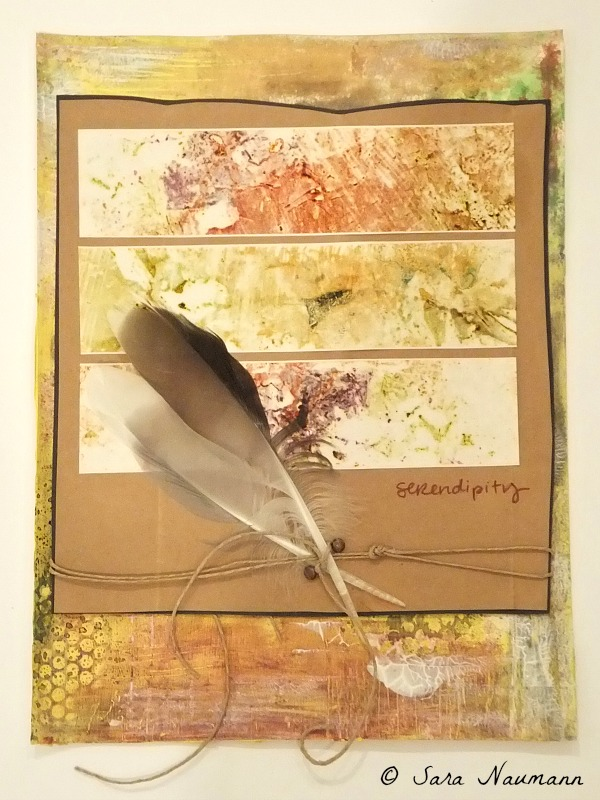 Serendipity Mixed-media collage © 2012 Sara Naumann