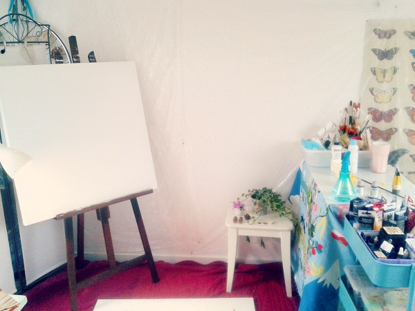Laly Mille Bloom True with Flora Bowley, creative space