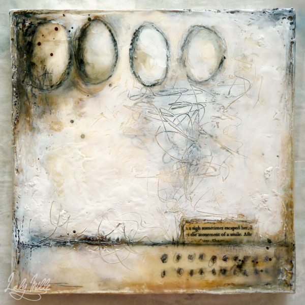 © 2015 Laly Mille - mixed media & encaustic