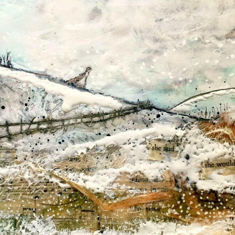 Wax & lace landscape