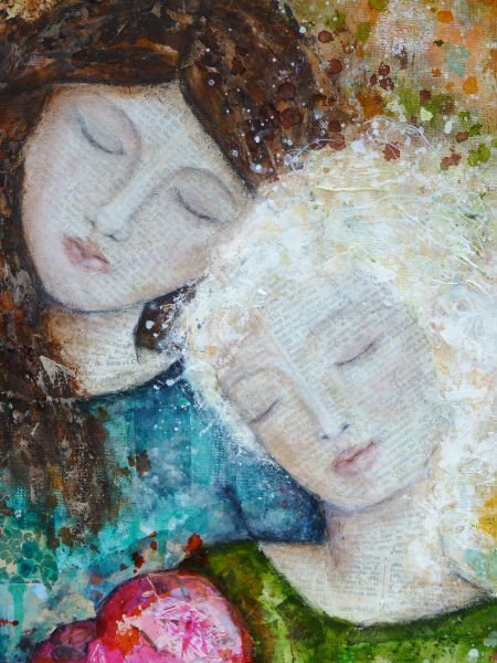 Compassion detail Laly Mille