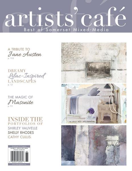 2017 - Vol 11 of Artists' Café Magazine, Stampington