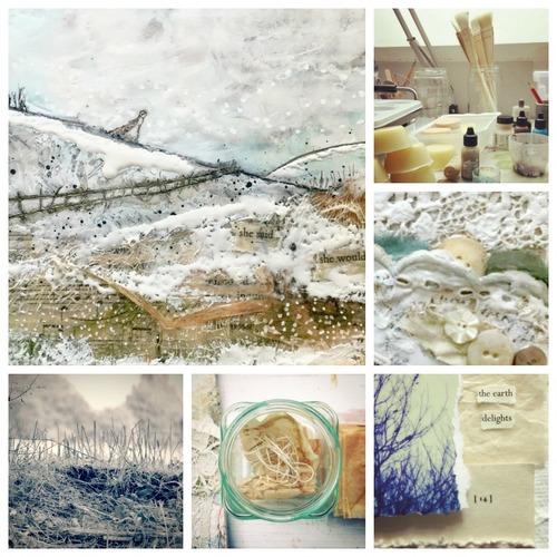 Layers of Light - Atelier de Peinture Mixed Media avec Laly Mille