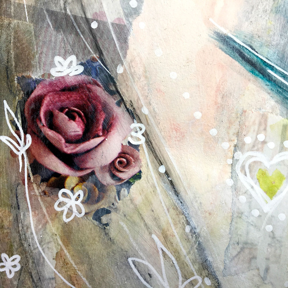 """""""Fly Home"""" Art Journal Page by Laly Mille"""