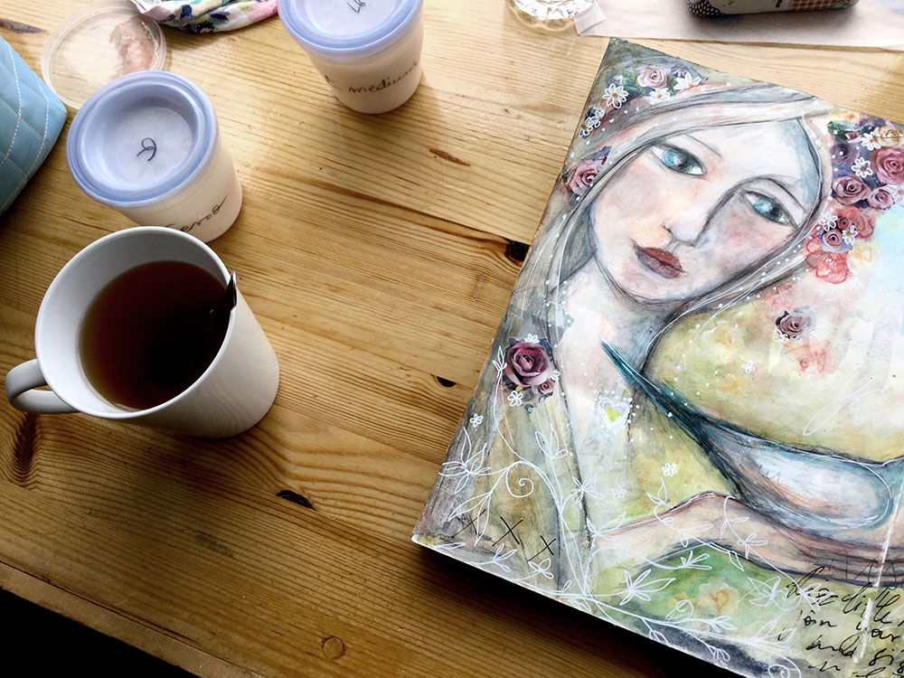 Art Journaling - Laly Mille