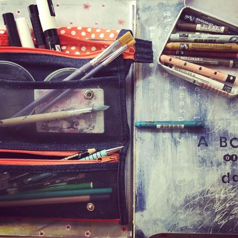 Art Journal Travel Kit - Laly Mille