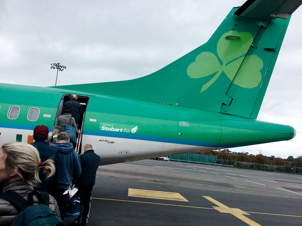 Irlande, me voici!