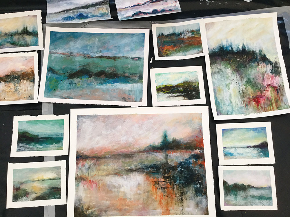 Laly Mille - Abstract Landscapes